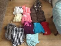 Large job lot of ladies/girls clothes 8-12