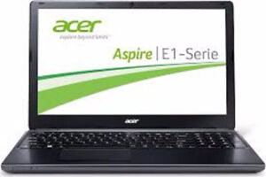 "Acer Aspire E1-531 Core 2 Duo  2.2 15.6"" 4GB ram 750 gig hdd"