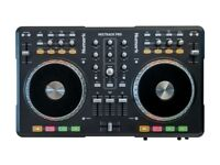 Numark Mixtrack Pro 2-Channel DJ Controller with Integrated Audio.