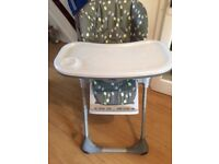 Chicco high/low chair