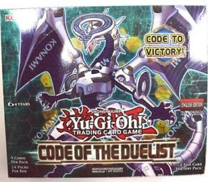 Yugioh Code Of The Duelist Booster Boxes & Packs