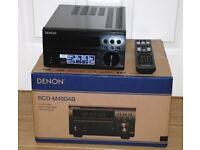DENON RCD - M40DAB HIFI SYSTEM & DALI ZENSOR 1 SPEAKERS