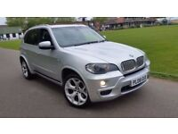 BMW X5 3.0 DIESEL XDRIVE M SPORT 2008 AUTOMATIC PANORAMIC GLASS ROOF SATNAV LEATHER FULL BMW HISTORY
