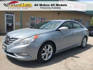 2011 Hyundai Sonata $ 122.17 BI WEEKLY! $0 DOWN! LIMITED! LEATHE