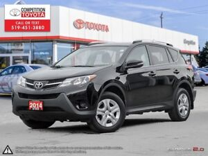 2014 Toyota RAV4 LE One Owner, No Accidents, Toyota Serviced