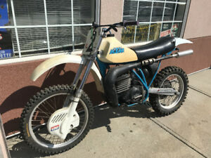 1981 KTM 495 Motocross Race Bike
