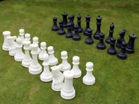 Giant Garden Outdoor Chess Set
