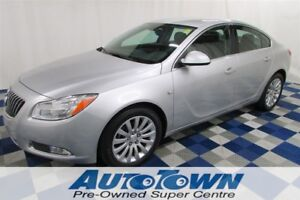 2011 Buick Regal CXL LOW KMS! LEATHER/AC/ACCIDENT FREE/ALLOYS