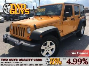 2012 Jeep WRANGLER UNLIMITED SPORT     A/C   PWR GROUP   4X4