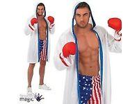 Rocky Boxer Fancy Dress Costume