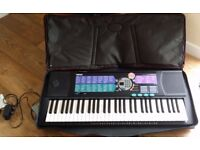 Yamaha Keyboard PSE-185 with case and stand