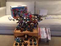 BARGAIN Wii (Excellent condition) with TRAP TEAM, Skylanders & Portals