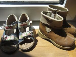 Size 6 Preschool/Child Geox and Cute Boots