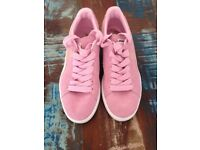Pink Puma Trainers size 6
