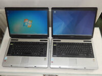 Cheap Laptops. TWO Toshiba A100-521 laptops for only £30!!!