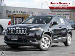 2017 Jeep Cherokee Sport | COLD WEATHER GROUP | HEATED LEATHER