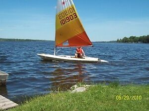Laser 1 Sailboat with trailer