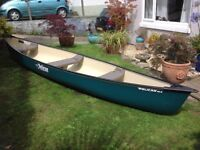 Canadian Canoe Pelican 15.5 as new condition