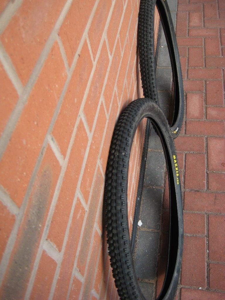 Mountain Bike Tyres Maxxis18 for the pairin Harborne, West MidlandsGumtree - Maxxis Larsen TT Tyres 26 inch 2 tyres, very good condition, excellent tread Technical data ETRTO 50 559 Psi 35 to 65 Tyre Size 26 2 2.0