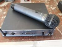 sony wireless microphone synthesizer URX-R1