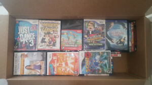86 Random Dvd/Blu-ray and Wii games