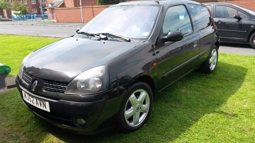 Renault clio extreme. Low miles. Mot. Cheap insurance ect
