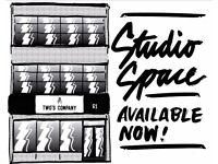 Calling all artists and creatives, studio space available now in Old Market, come join the family!