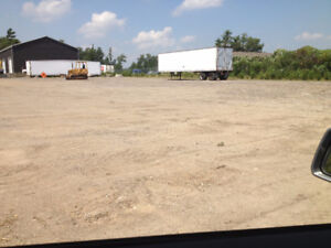 One Acre Gravel Surface Lot