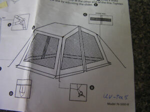 Looking for parts for tent