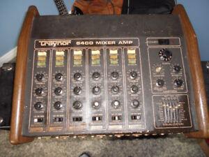 power mixer,digital recorder, speakers,mic, stand
