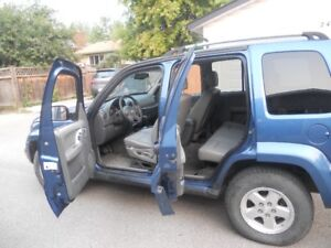 2004 Jeep Liberty SUV, Crossover diesel