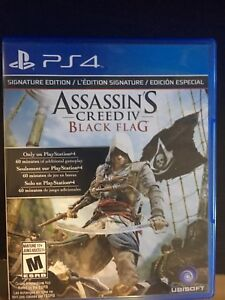 PS4 game , Assassins Creed IV Black Flag $25