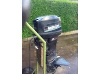 Mercury 25hp long shaft outboard boat engine