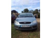 2004 Ford Focus C Max 1.8 petrol. Clean car, no damage and running well. One small rust spot.