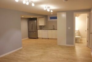 2 bed 1 bath basement suite