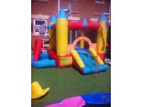 Bouncy Castle With Ball Pool/Pit