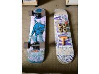 Skateboards, cruiser and karma deck