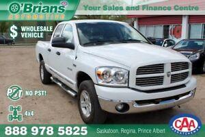 2008 Dodge Ram 1500 SLT - No PST! Wholesale Unit