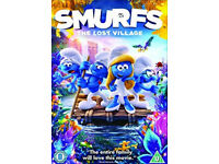 Smurfs - the lost village dvd (2017 just released)