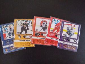 Lot 5 cartes hockey Pacific Prism McDonalds 2001 - Dial-a-Stats