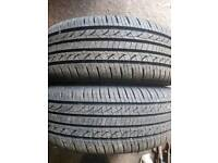 Two 195/55/15 tyres