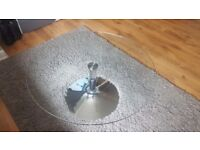 Glass coffee table & Glass side table for SALE