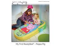 Peppa Pig ReadyBed - My First Toddler Airbed and Sleeping Bag