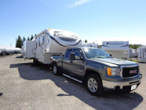 Incredible Package Deal on Fifth Wheel and Tuck