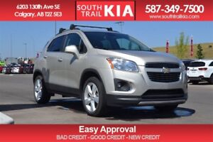 2014 Chevrolet Trax LTZ SUNROOF BLUE TOOTH ALL WHEEL DRIVE
