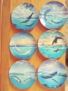 Bradford Exchange Collector Plates 7 Different Sets For Sale