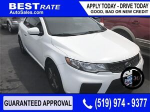 KIA FORTE KOUP MANUAL - APPROVED IN 30 MINS! - ANY CREDIT LOANS