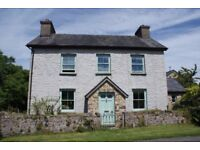 4 Bedroom Detached Family House for sale near Llandeilo, Carmarthenshire. Guide price £300,000
