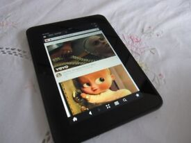 Amazon fire HD tablet excellent condition