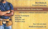 Bob's Affordable Home Repairs